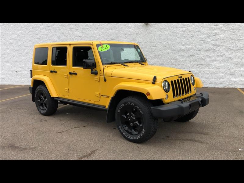 Pre-Owned 2015 Jeep Wrangler Unlimited Sahara 4WD