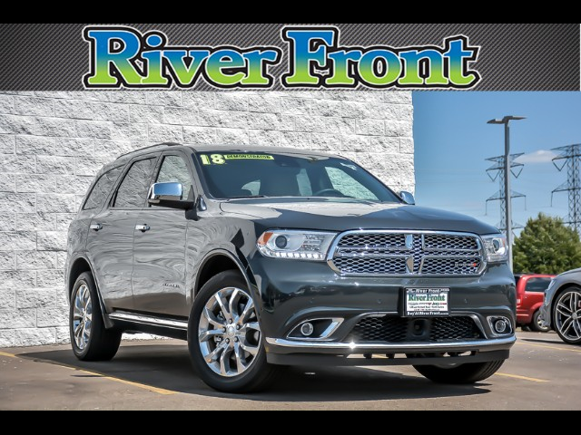 New 2018 DODGE Durango Citadel AWD