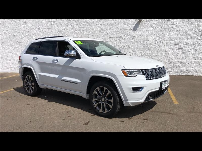 New 2018 JEEP Grand Cherokee Overland 4WD