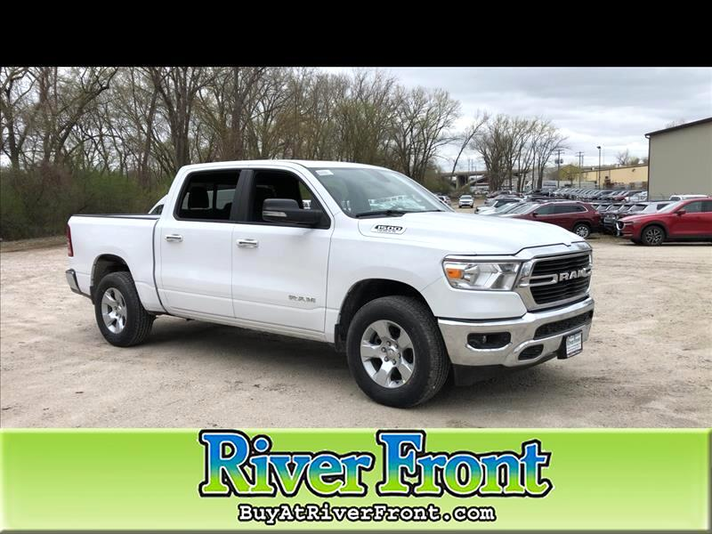 All New Dodge Ram Truck 2019 >> New 2019 Ram 1500 Big Horn Lone Star Crew Cab 4x2 5 7 Box