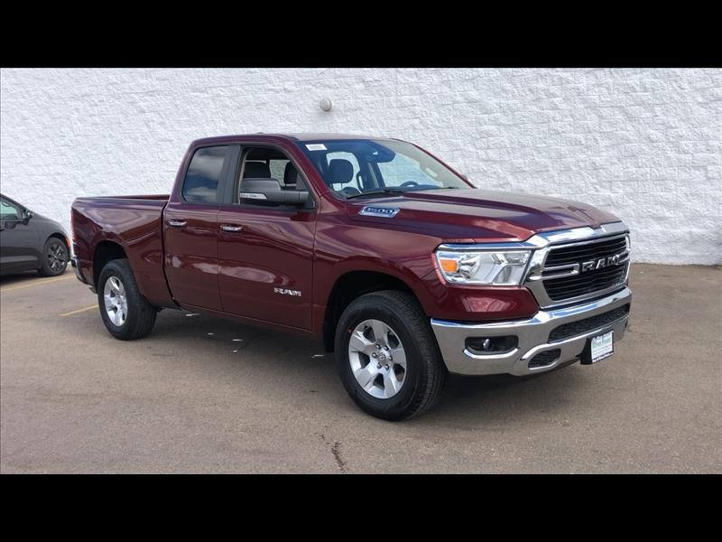 New 2019 RAM All-New 1500 Big Horn Quad Cab 4WD