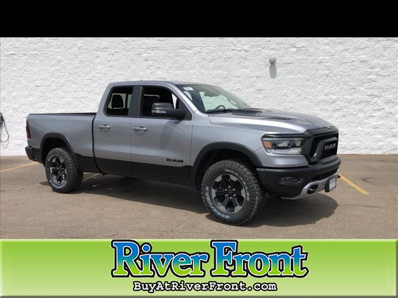 Ram 1500 Rebel >> New 2019 Ram 1500 Rebel Quad Cab 4x4 6 4 Box