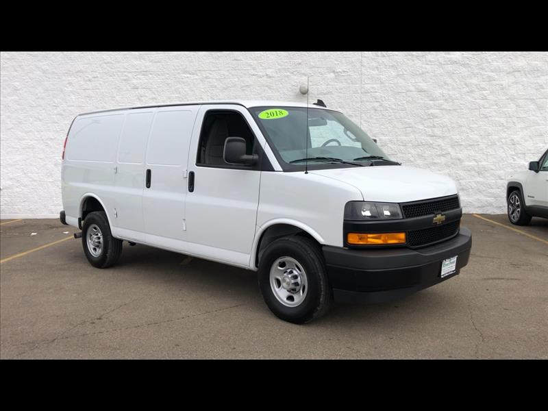 6ca16f75c6 Pre-Owned 2018 Chevrolet Express 2500 Cargo Cargo Van in North ...