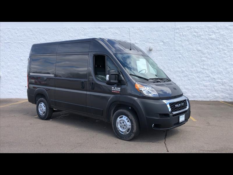 Dodge Ram Promaster >> New 2019 Ram Promaster 2500 High Roof Tradesman 136 In Wb Cargo Van