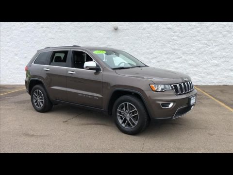 Pre-Owned 2018 Jeep Grand Cherokee Limited 2WD