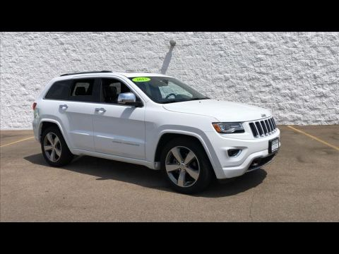 Pre-Owned 2015 Jeep Grand Cherokee Overland 4WD