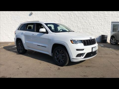 New 2019 JEEP Grand Cherokee Overland 4WD