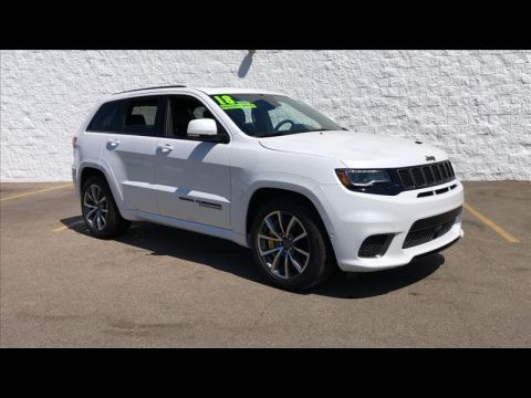 New 2018 JEEP Grand Cherokee Trackhawk 4WD