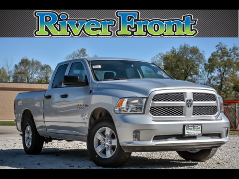 New 2018 RAM 1500 Tradesman Quad Cab 4WD