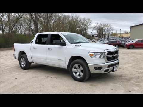 New 2019 RAM All-New 1500 Big Horn Crew Cab SWB 2WD