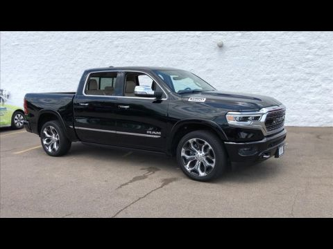New 2019 RAM All-New 1500 Limited Crew Cab SWB 4WD