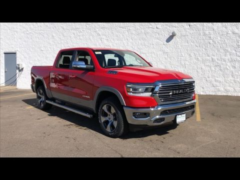 New 2019 RAM All-New 1500 Laramie Crew Cab SWB 4WD