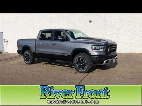 New 2020 RAM 1500 Rebel Crew Cab SB 4WD With Navigation