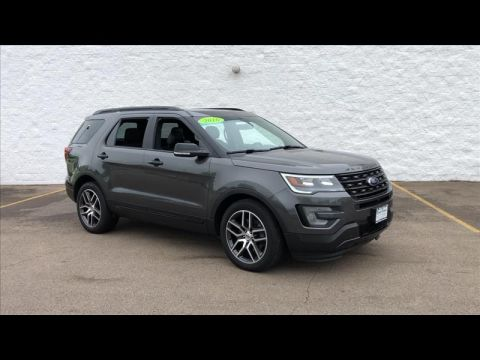 Pre-Owned 2016 Ford Explorer Sport 4WD