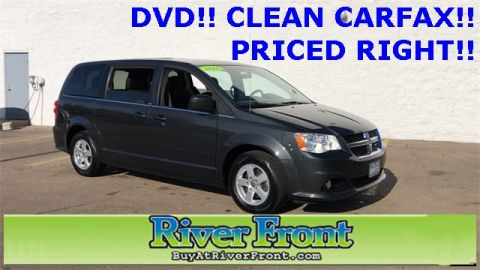 Pre-Owned 2012 Dodge Grand Caravan Crew FWD 4D Passenger Van