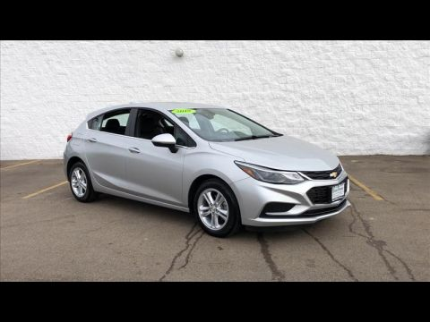 Pre-Owned 2018 Chevrolet Cruze LT Auto Hatchback